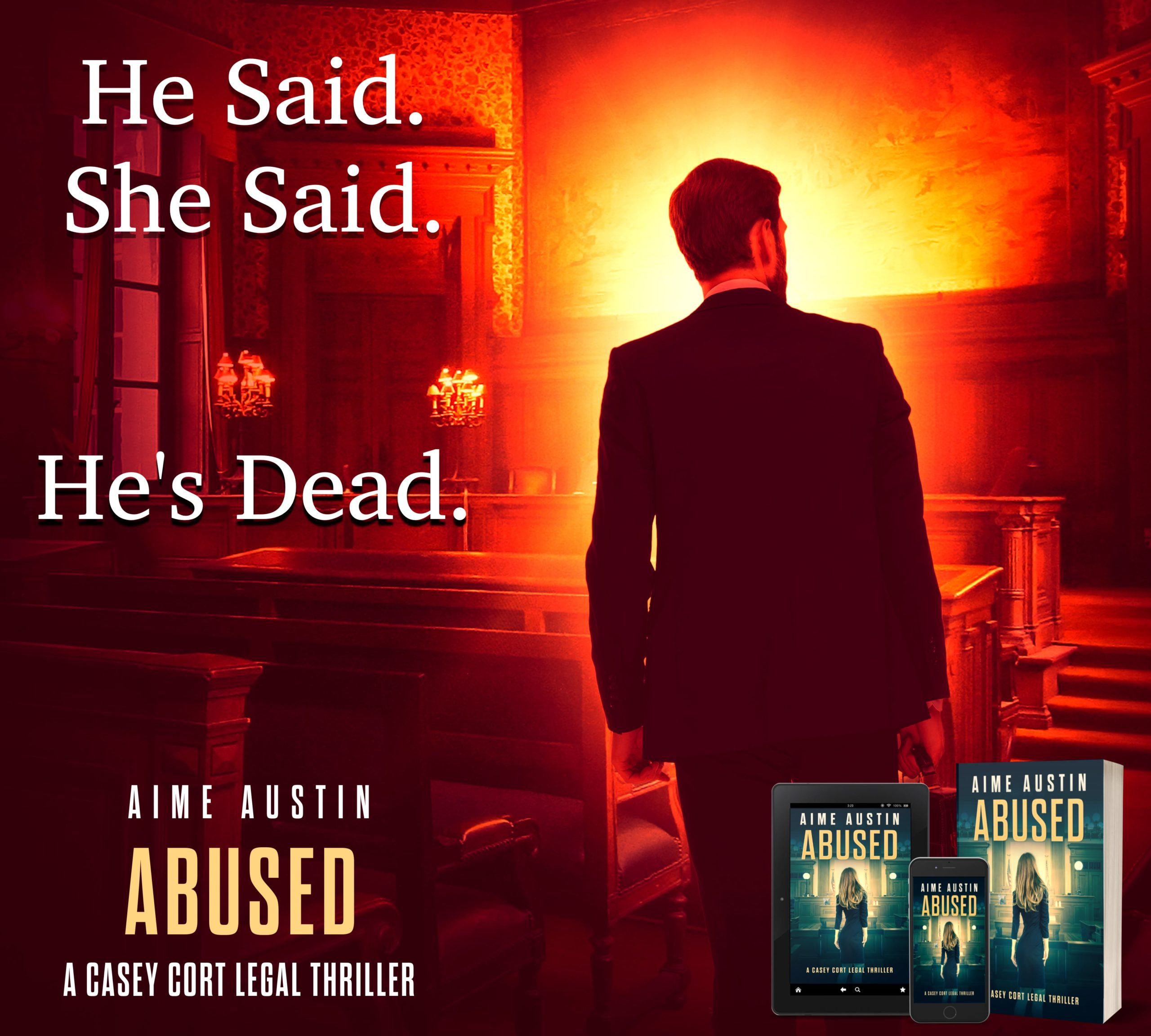 Bonus Episode: Abused is out today! A Time to Thrill – Conversation with Aime Austin